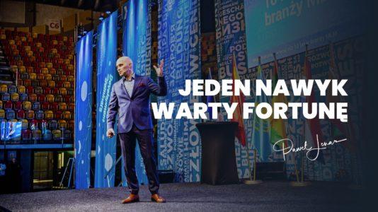 Jeden nawyk warty fortunę - Paweł Lenar Blog