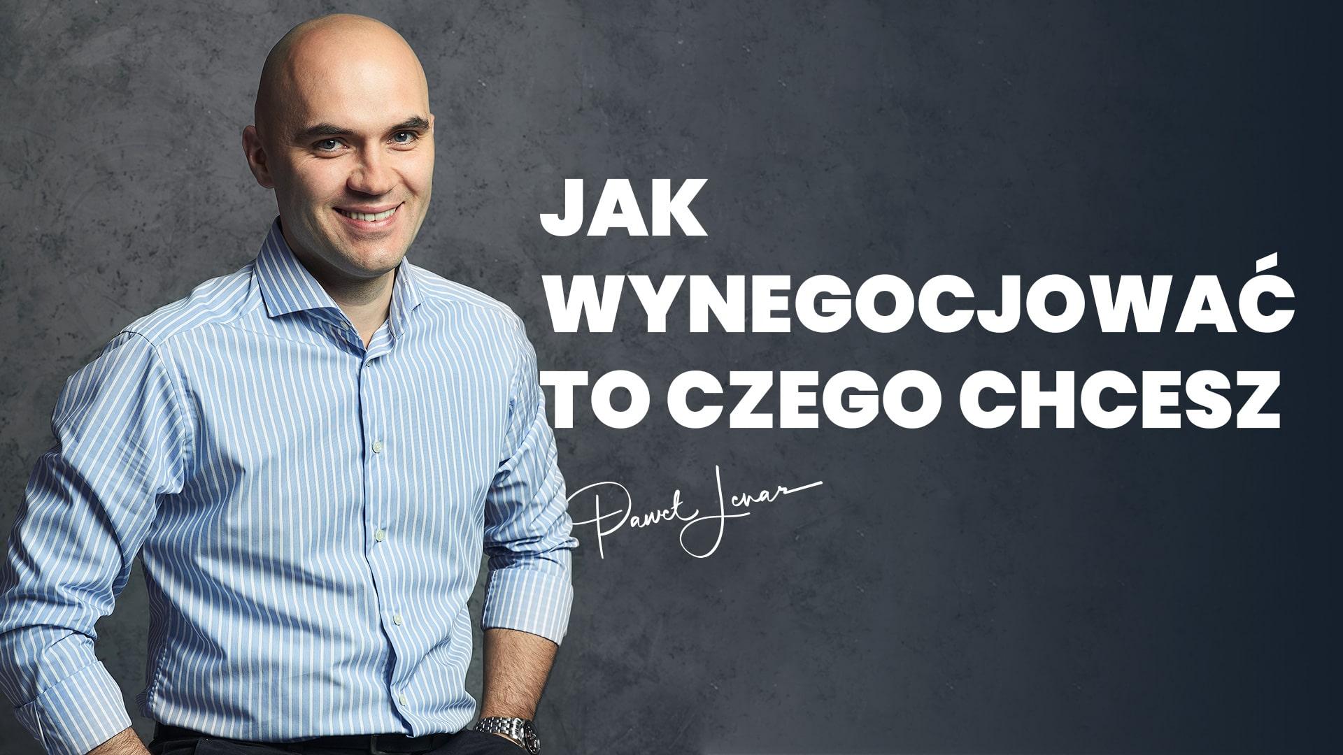 potega negocacji - Paweł Lenar Blog