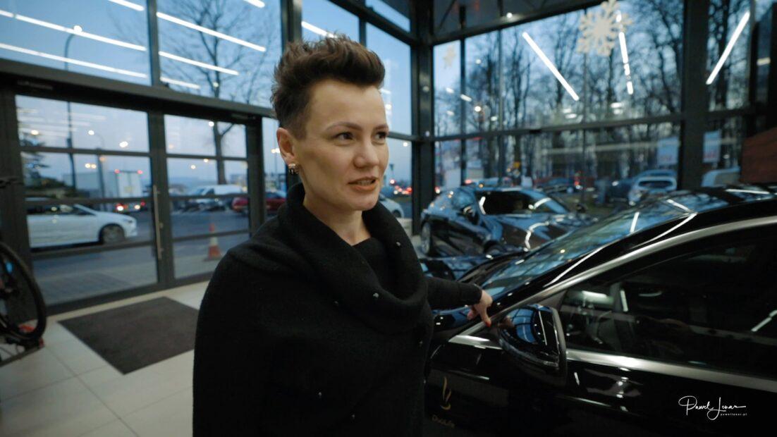 Odbiór Wymarzonego Mercedesa Magda Horochowik - Paweł Lenar Blog