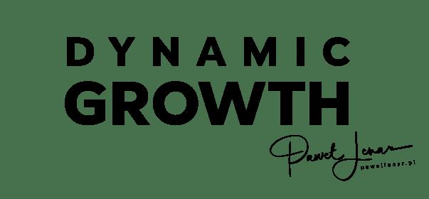 dynamic growth logo min - Paweł Lenar Blog