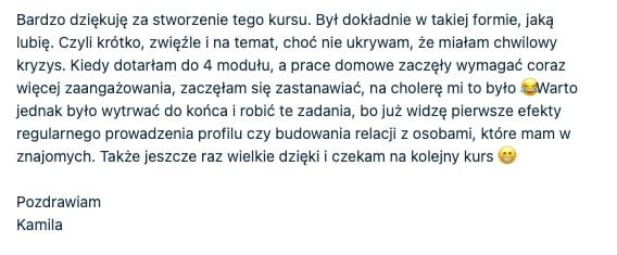 pawel lenar testymonial1 - Paweł Lenar Blog