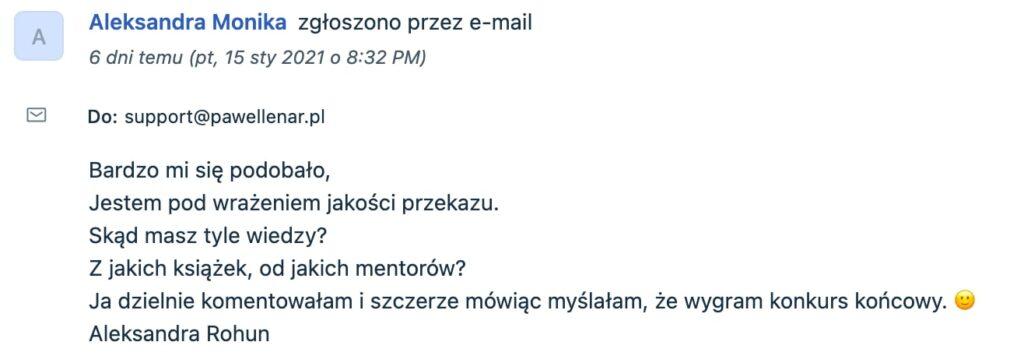 pawel lenar testymonial14 - Paweł Lenar Blog