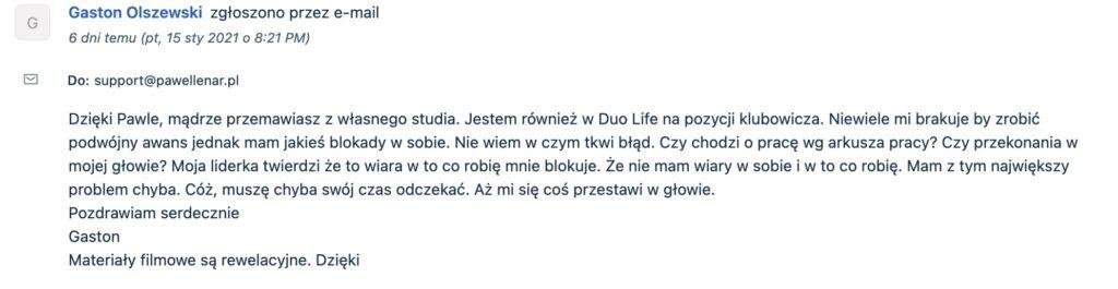 pawel lenar testymonial15 - Paweł Lenar Blog