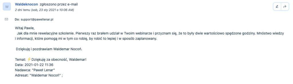 pawel lenar testymonial17 - Paweł Lenar Blog