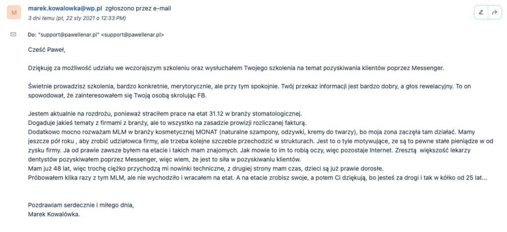 pawel lenar testymonial21 - Paweł Lenar Blog