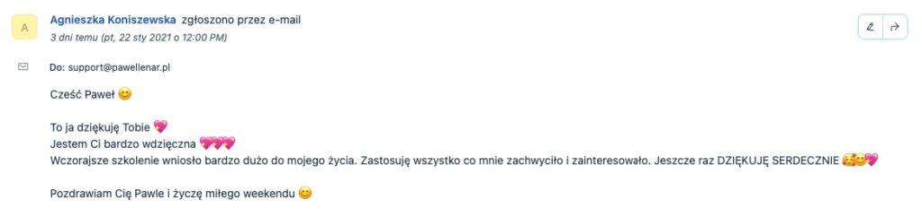 pawel lenar testymonial22 - Paweł Lenar Blog