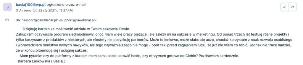 pawel lenar testymonial25 - Paweł Lenar Blog