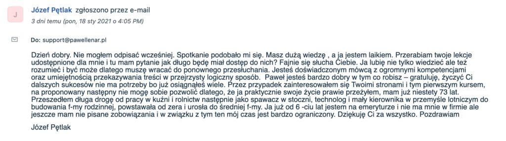 pawel lenar testymonial4 - Paweł Lenar Blog
