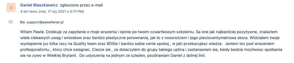pawel lenar testymonial6 - Paweł Lenar Blog