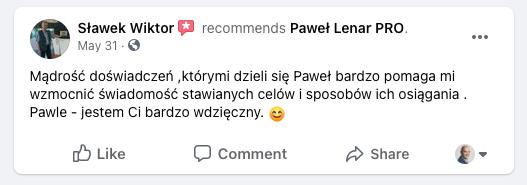 testymoniale 20 - Paweł Lenar Blog